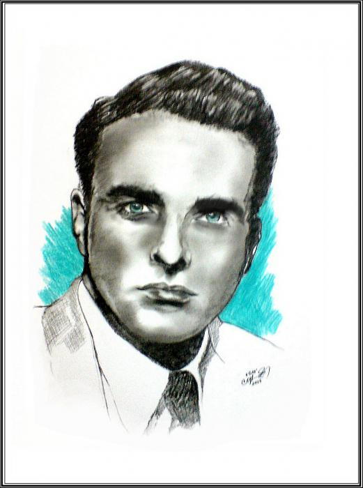 Montgomery Clift by cipta